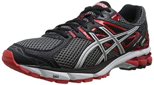 ASICS Men's GT-1000 3 G-TX Running Shoe,Storm/Lightning/