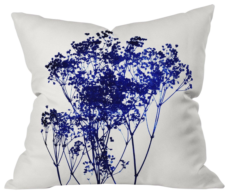 Deny Designs Garima Dhawan Rain 5 Outdoor Throw Pillow,  16' x 16'