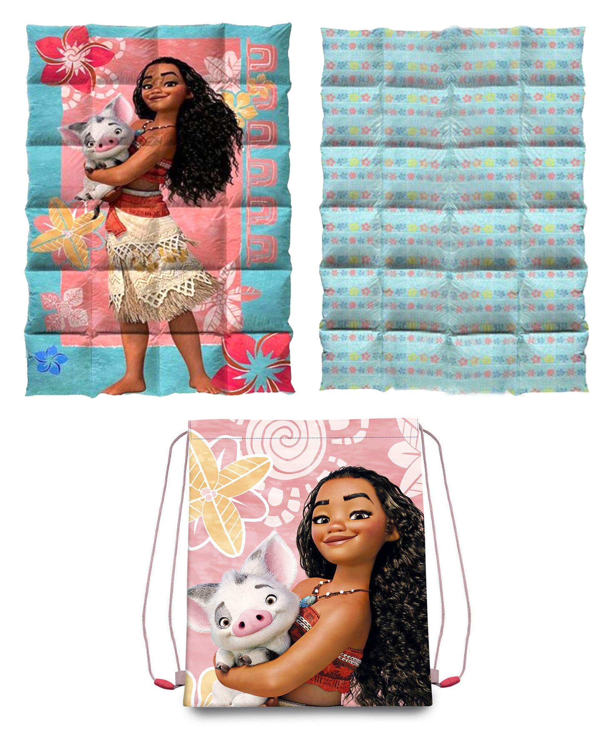 Vaiana Single Duvet & Drawstring Bag Set,Kids Duvet, Official Licenced