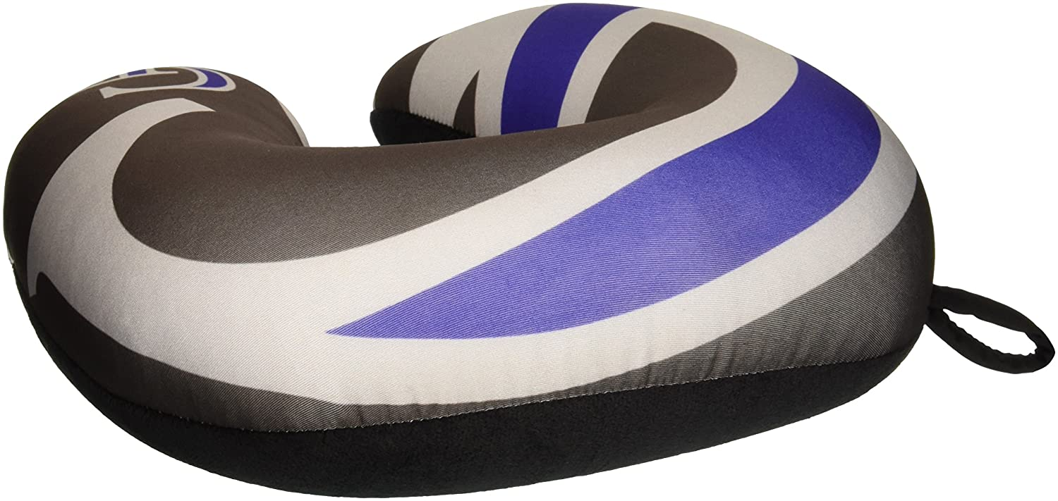 Black MLB Colorado Rockies Impact Neck Pillow