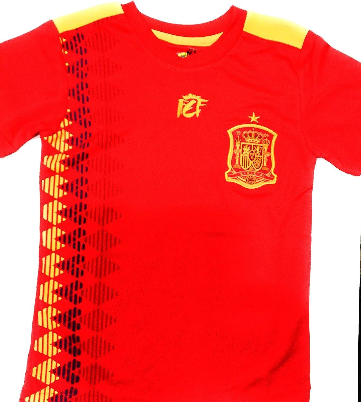 FEF Camiseta Oficial Real Federación Española Mundial Rusia 2018 ...