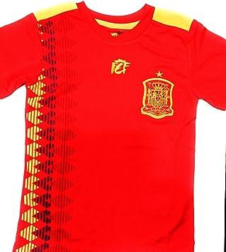 FEF Camiseta Oficial Real Federación Española Mundial Rusia 2018 (10): Amazon.es: Deportes y aire libre