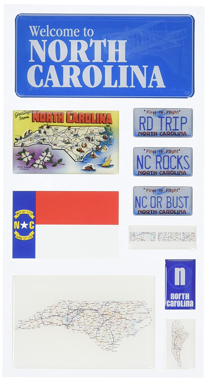 Reminisce Mini Maps, North Carolina by Reminisce B000WWMAY0