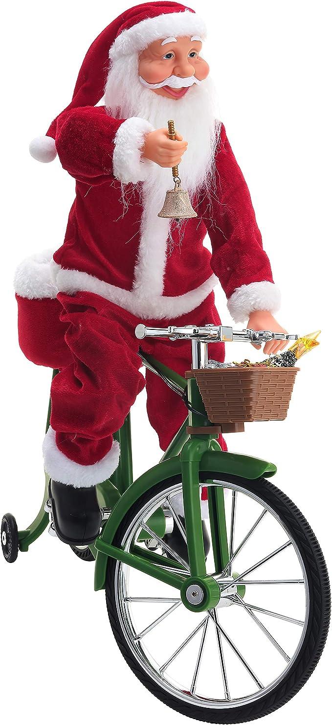 X-Large Cotton Drawcord Biker Christmas Xmas Santa Sack Stocking Gift Bag With Funny Merry Christmas Biking Motorcycle Cafe Racer Motif