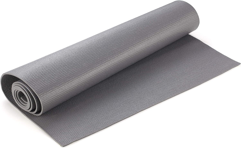 Amazon.com: Yogamatters – Sticky Yoga Mat, gris pizarrón ...