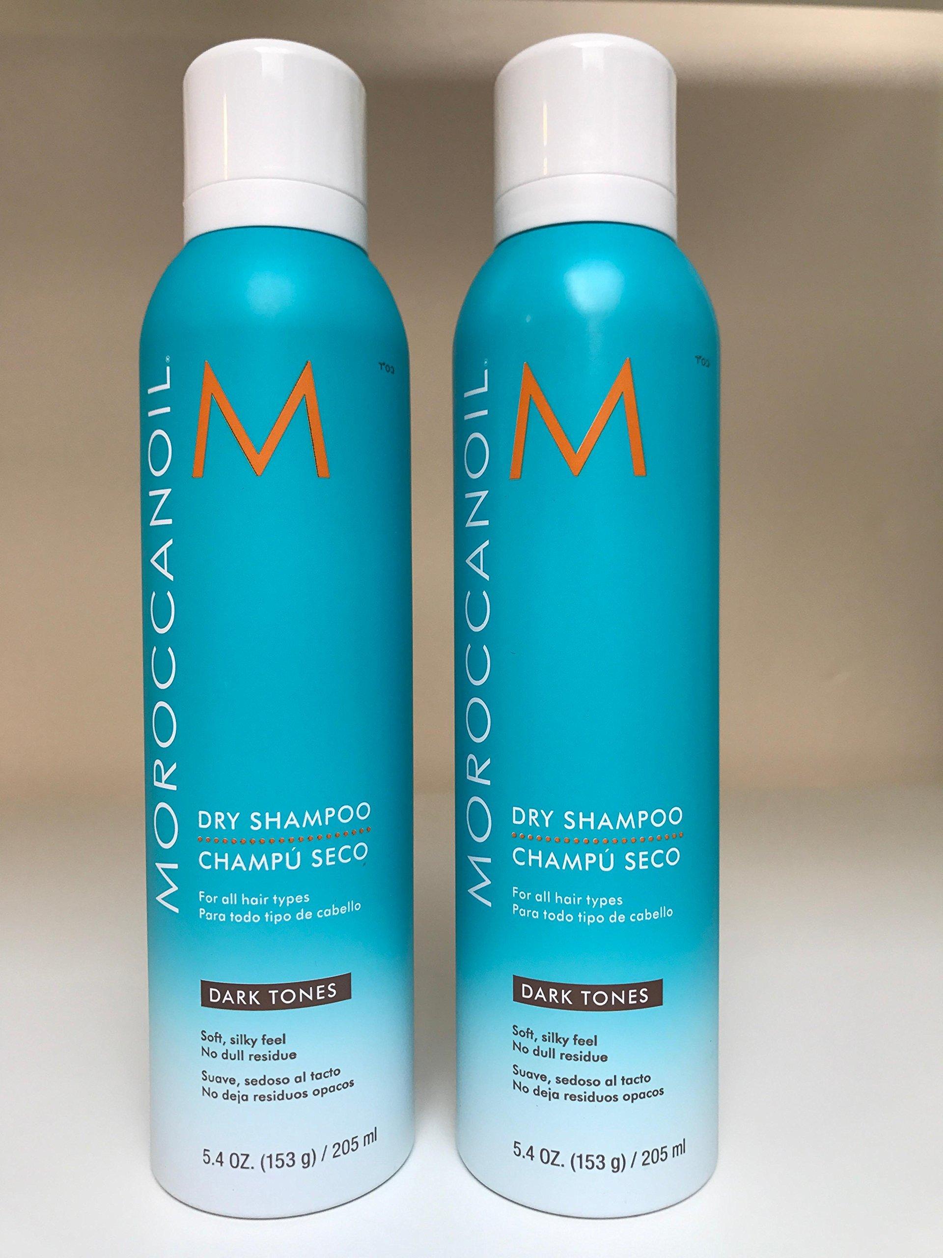 Amazon.com: Moroccanoil Dark Tones Dry Shampoo, 1.7 Ounce