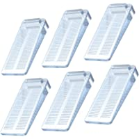 Yosemy Deurstopper, 6 stuks, rubber, antislip, in hoogte verstelbaar, raamstopper, wig, niet giftig, geen onaangename…