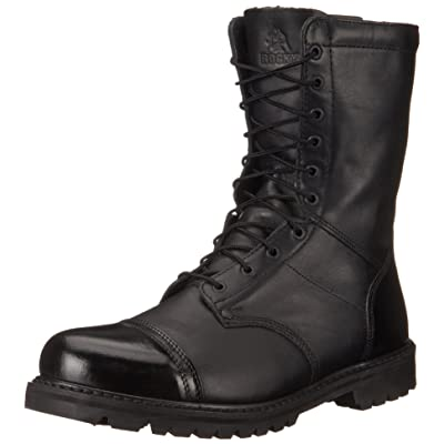 Amazon.com | Rocky Men's 10 Inch Paraboot 2095 Work Boot | Industrial & Construction Boots