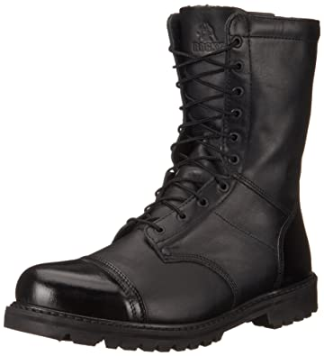 f47f5ea417bb Rocky FQ0002095 Men s 10 quot  200G BOOT WIDE 7.5 Duty ...