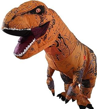 Disfraz hinchable con diseño de tiranosaurio rex, ideal para ...