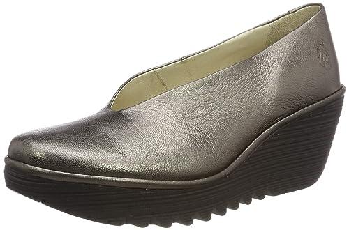 Yaz Fly Mujer Zapatos Cuña Para London De Damen doQCxWrBe