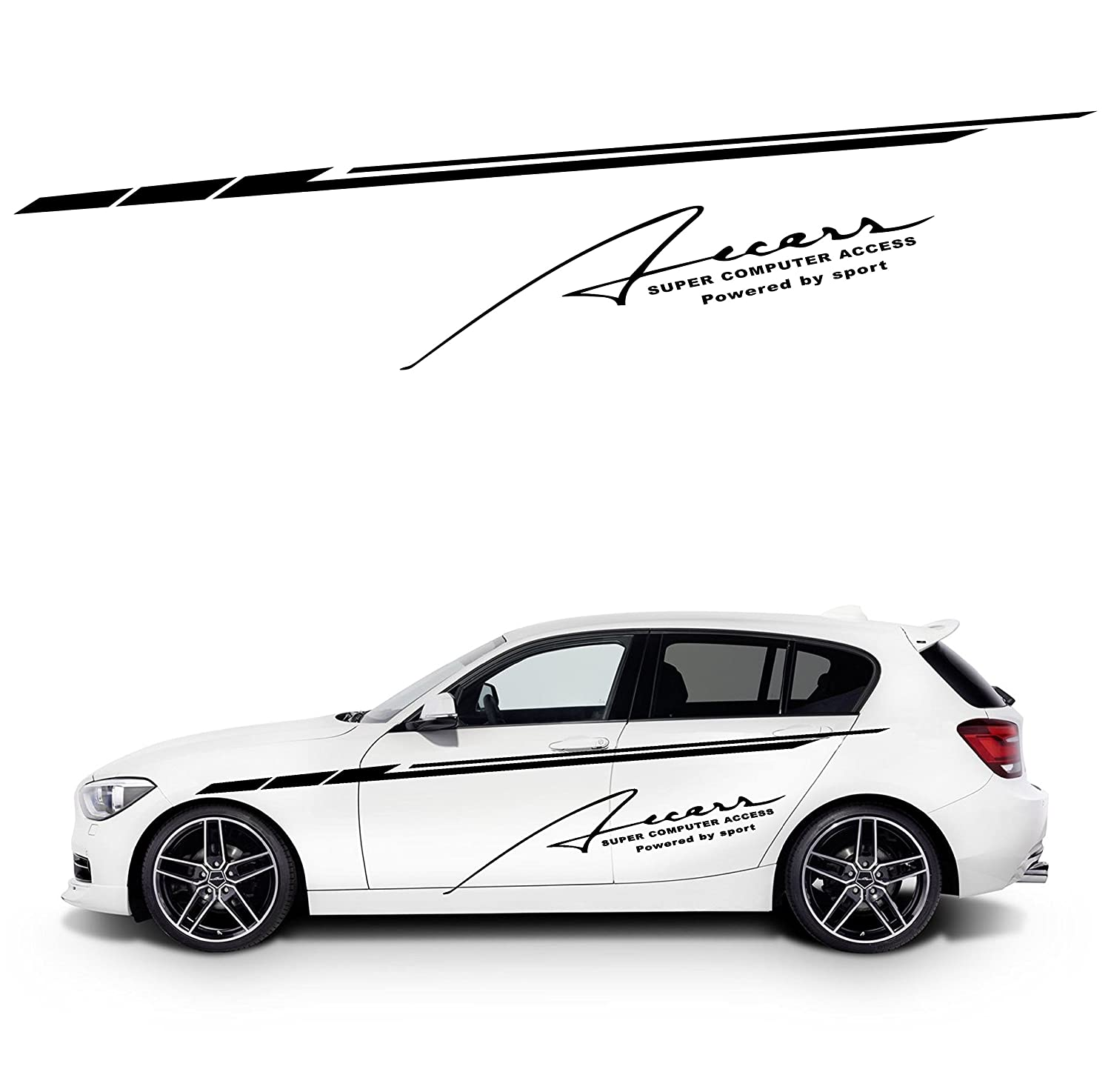 Amazon com body of car sticker design simple and stylish automotive