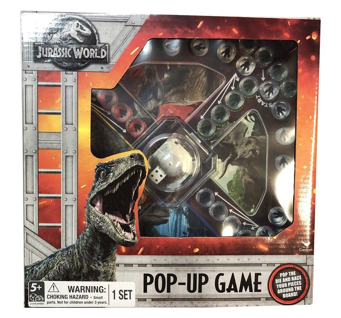 Jurassic World Pop-Up Game