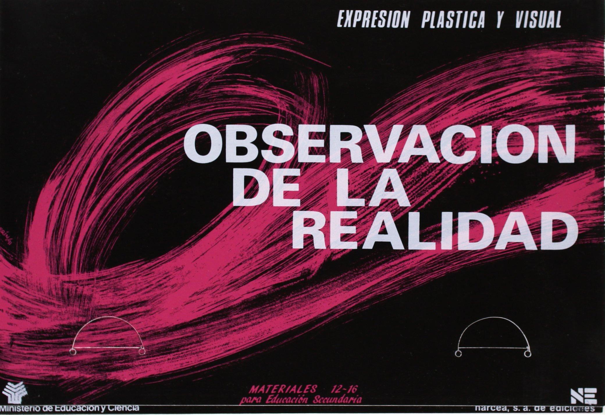Observación de la realidad. Expresión plástica y visual Materiales 12-16 para Educación Secundaria: Amazon.es: Isabel Merodio, Isabel Caride, María Ángeles ...