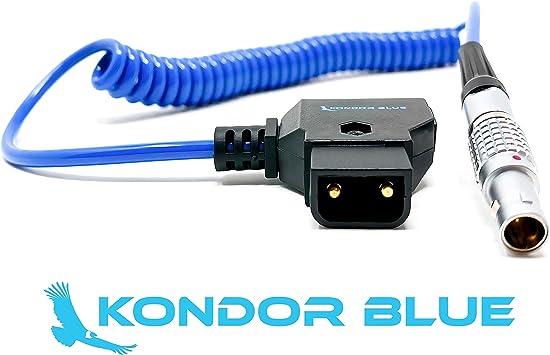 D-TAP a LEMO Conector Macho 0B 2pin Cable Adaptador de Alimentación para Teradek Bolt Pro