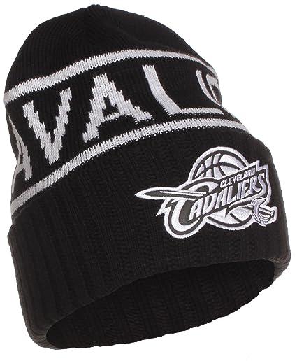 sports shoes ae515 7e943 ... store mitchell ness nba cleveland cavaliers cuffed beanie knit hat osfa  kt58z a1626 2e7fc