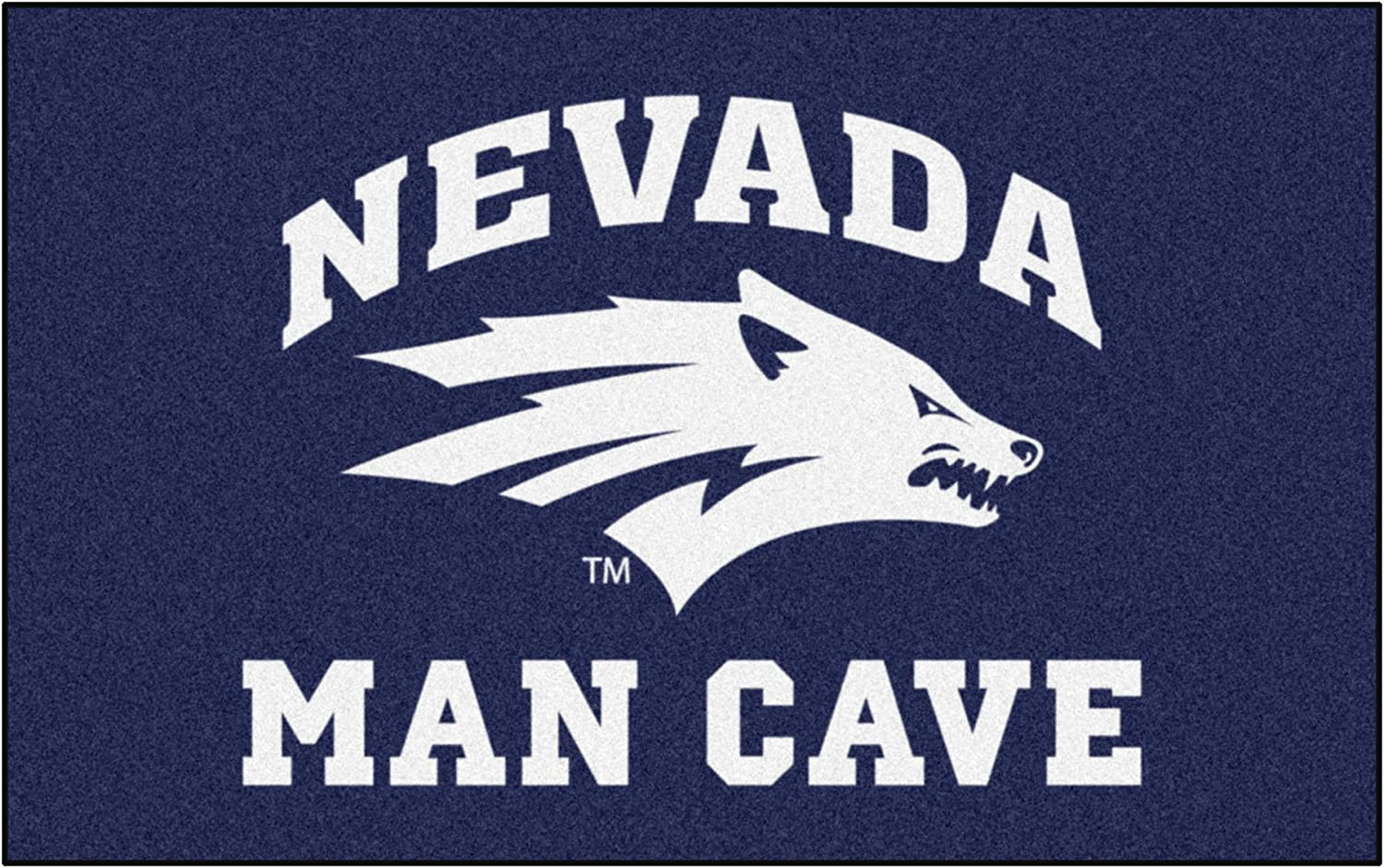FANMATS 17312 Team Color 59.5x94.5 Nevada Man Cave Ulti Mat Rug