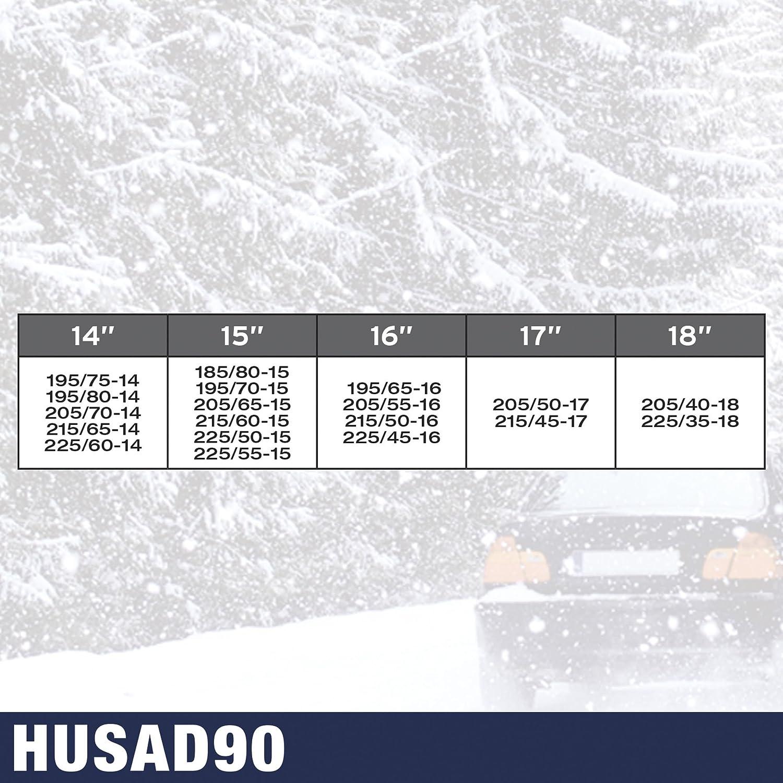 Cha/înes /à neige Husky Advance 9mm O-Norm KN110