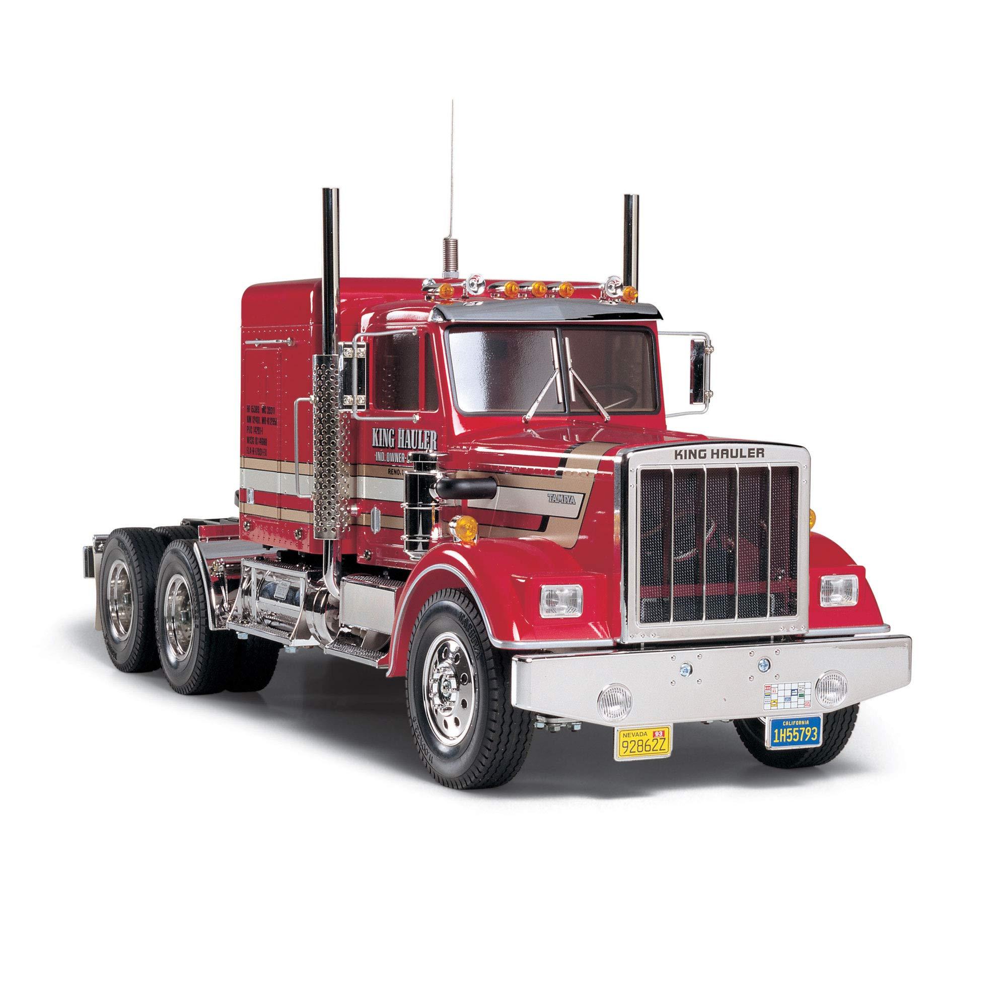 TAMIYA America, Inc 1/14 King Hauler 2WD Semi Tractor Kit, TAM56301