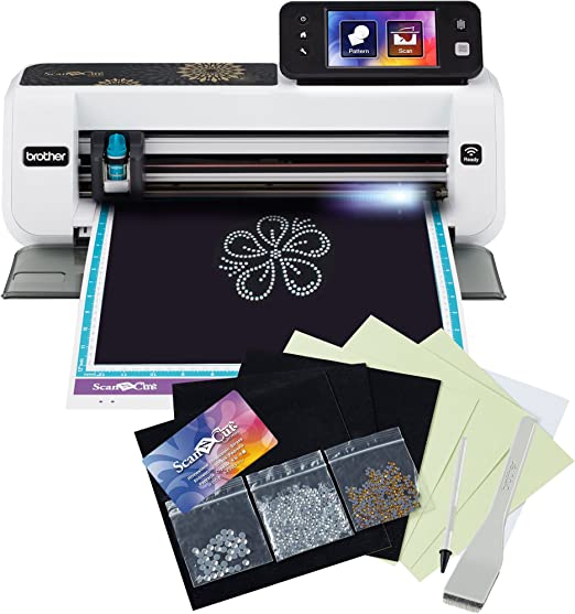 Brother ScanNCut2 Home and Hobby Cutting Machine with Rhinestone Trial Kit by Brother International: Amazon.es: Hogar