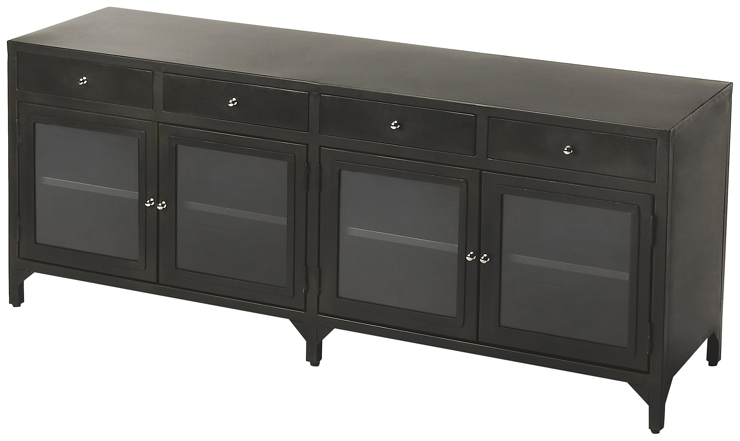 Oscar Console Chest in Distressed  Finish 730904