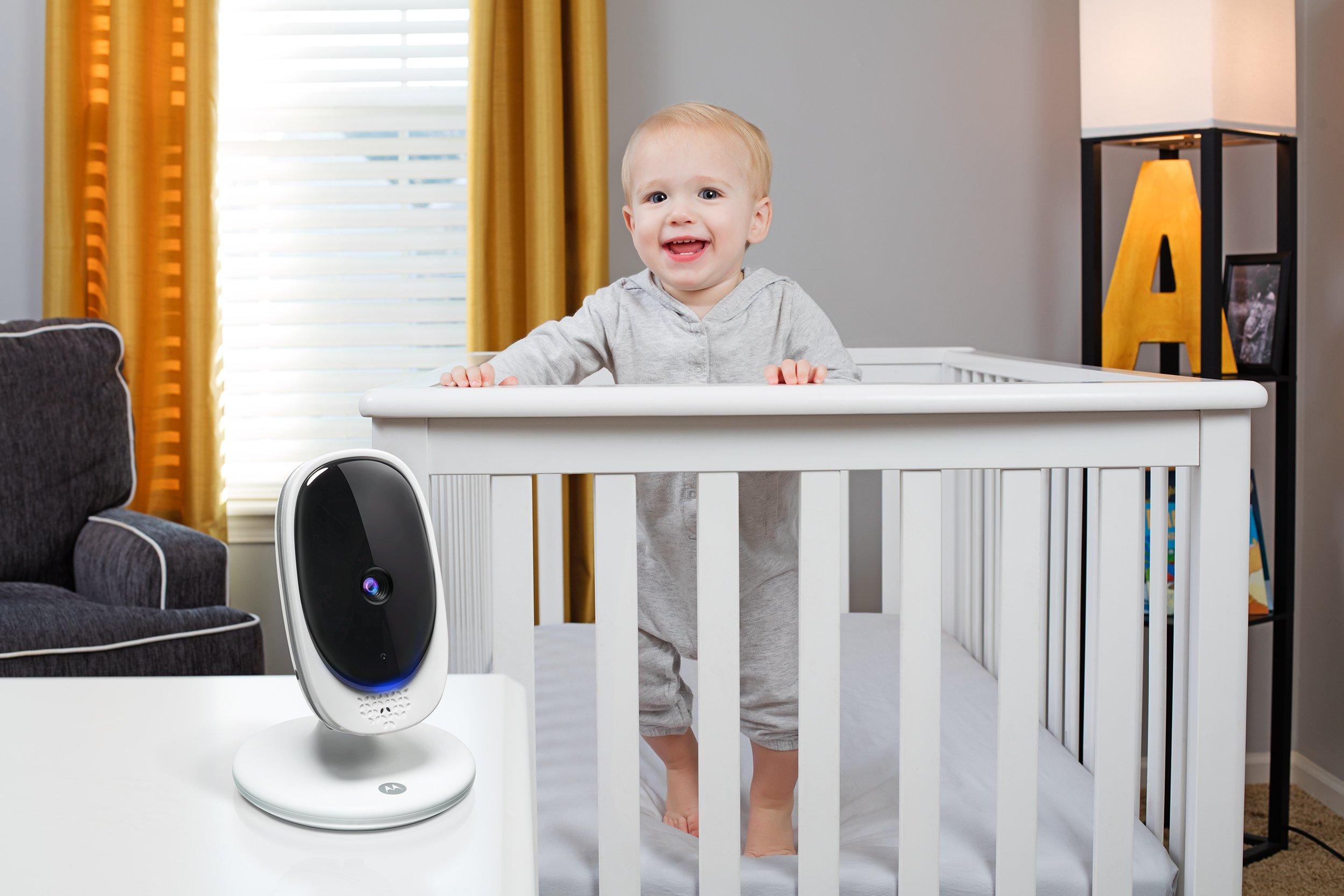 Motorola Comfort 50 Digital Video Audio Baby Monitor with 5 inch Color Screen by Motorola Baby (Image #4)