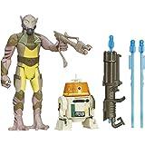 Star Wars Rebels 3.75-inch Forest Mission Garazeb Orrelios And C1-10p Figure Englisch Version