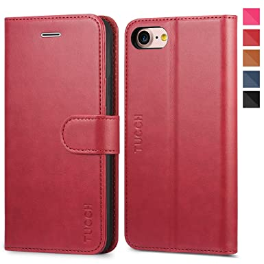 IPhone 7 Case IPhone 8 Case TUCCH IPhone 7 Wallet Amazoncouk
