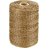 Floral Wire Vine Wire Bind Wire Rustic Wire Wrapping Wire for Flower Bouquets (Light Brown, 673 Feet)