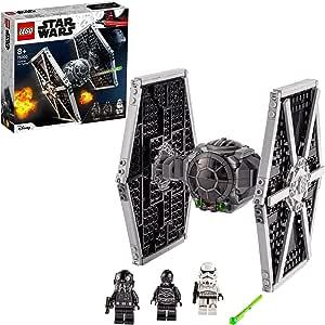 LEGO 75300 Star Wars Caza Tie Imperial Juguete de Construcción con Mini Figuras de Stormtrooper y Piloto de Saga Skywalker