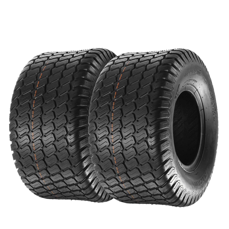 MaxAuto Set of 2 18x9.50-8 18/9.50-8 Lawn & Garden Mower Tractor Turf Tires 4PR