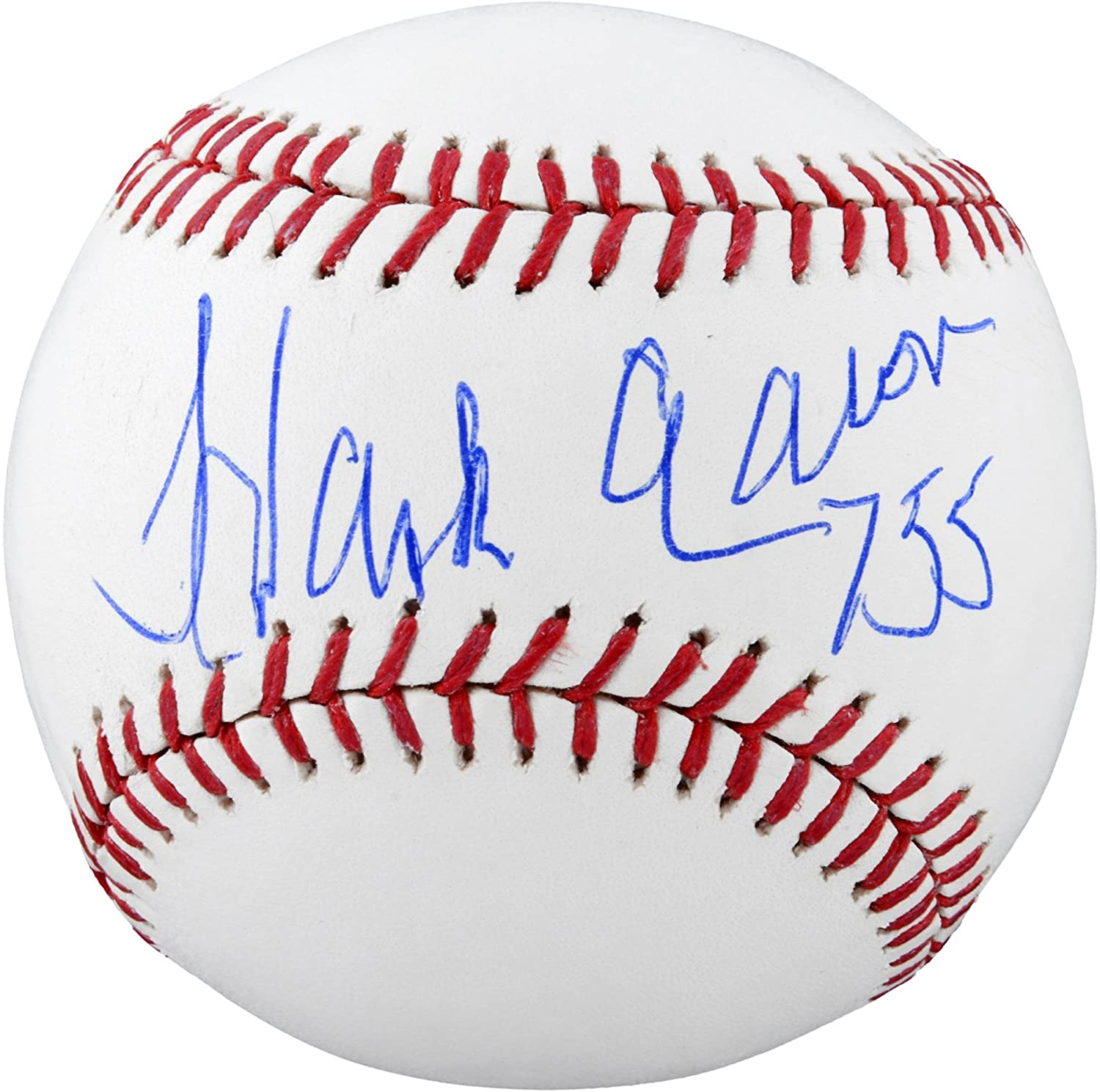 Hank Aaron Atlanta Braves Autographed Baseball with 755 HRS Inscription - Fanatics Authentic Certified Sports Memorabilia