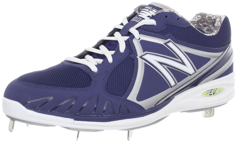 Amazon.com   New Balance Men's MB3000 Cleated Baseball Shoe, Blue/White, 12  D US   Baseball & Softball