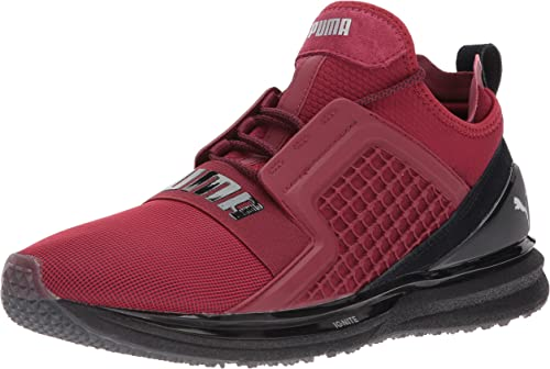 PUMA Men's Ignite Limitless Terrain Sneaker, Tibetan Red
