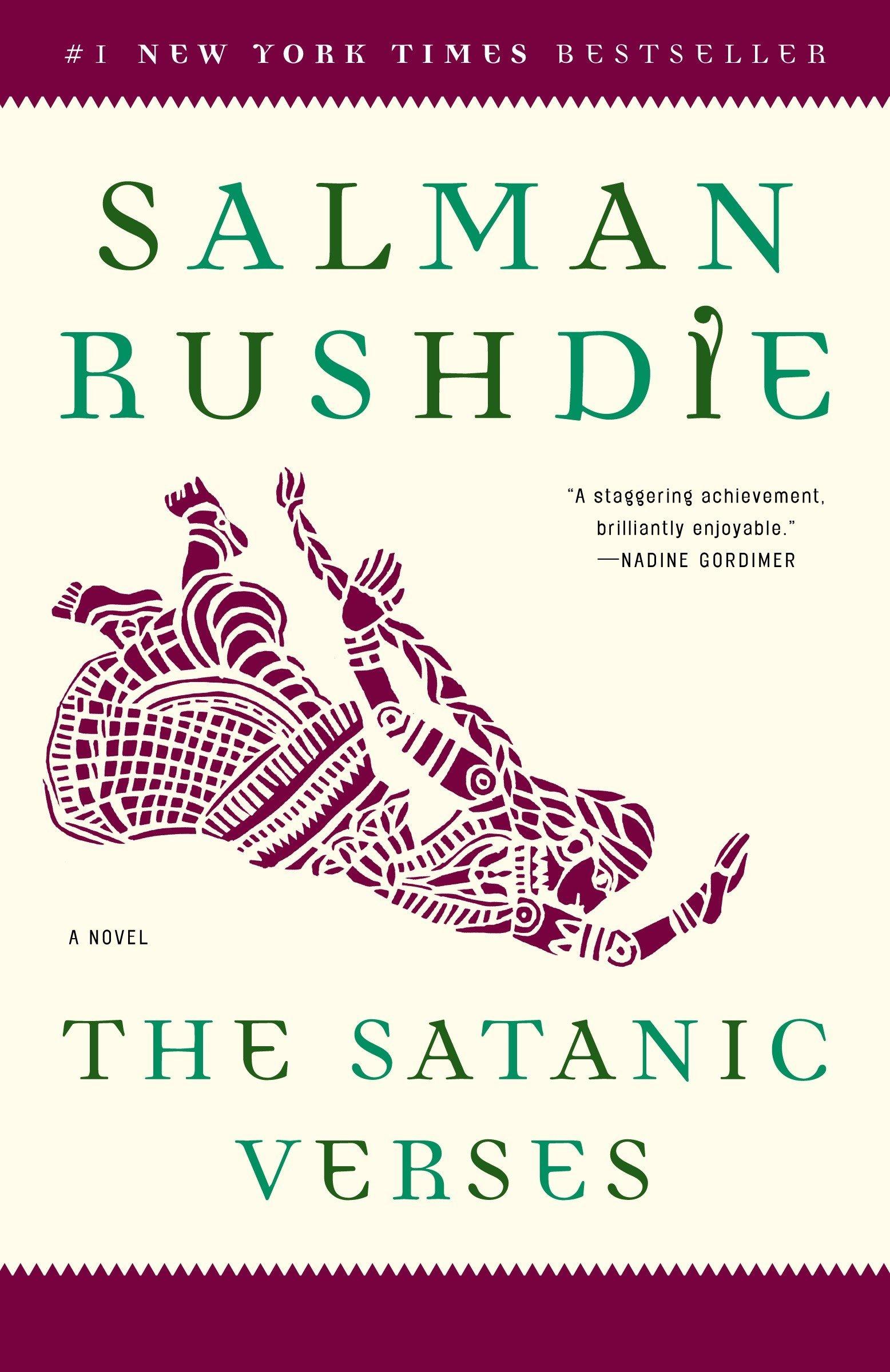 The Satanic Verses A Novel Salman Rushdie 9780812976717 Amazon