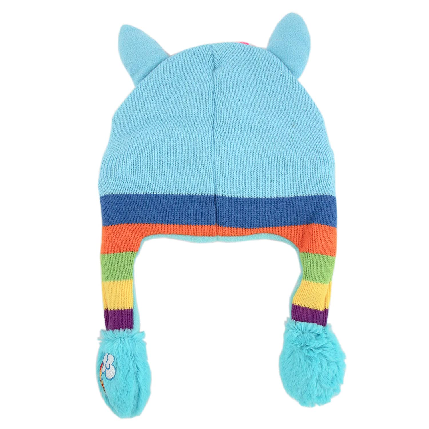 Amazon.com  Hasbro Girls Little Pony Squeeze and Flap Fun Cold Weather Hat f978a3d85180