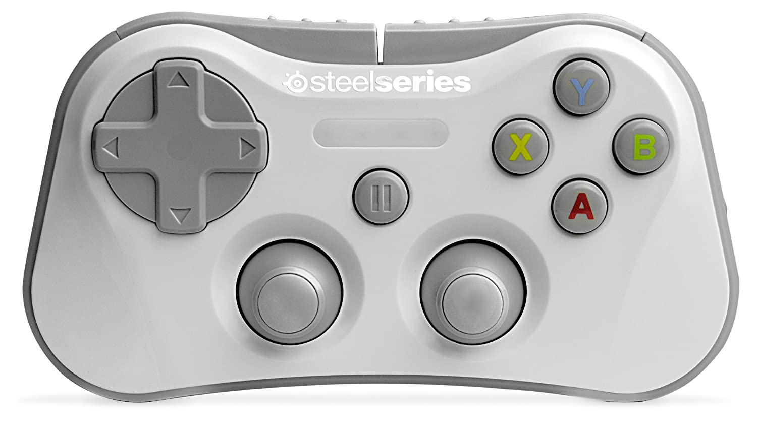 SteelSeries Stratus Wireless Gaming Controller for iPhone, iPad and iPod Touch, White 69017
