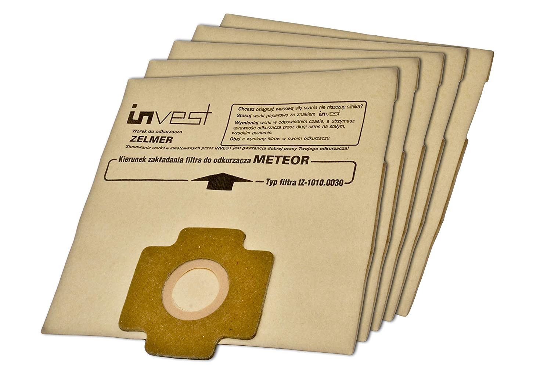 Dust bags for Zelmer Meteor 2 paper