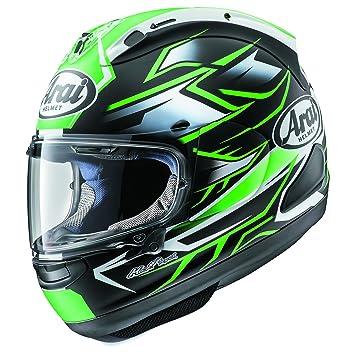 Arai corsair-x fantasma verde casco de moto
