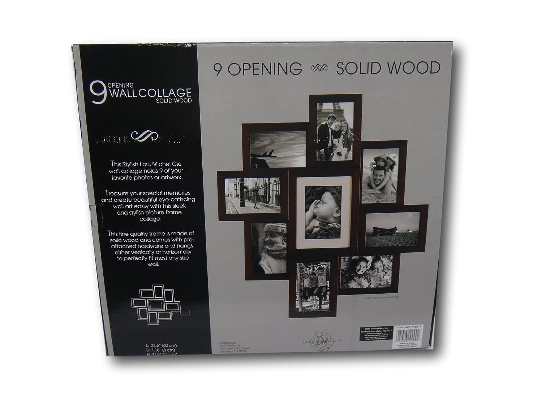 Loui Michel Cie 9 apertura Collage de pared, madera maciza Collage ...