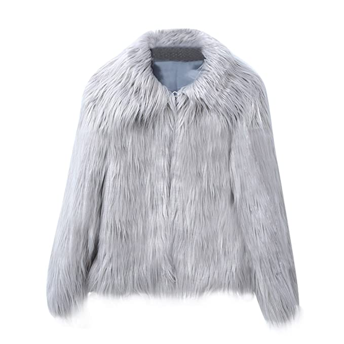 Longra Mujer Invierno Abrigo,Prendas de Vestir Las Mujeres de otoño Invierno Elegante cálido Abrigo