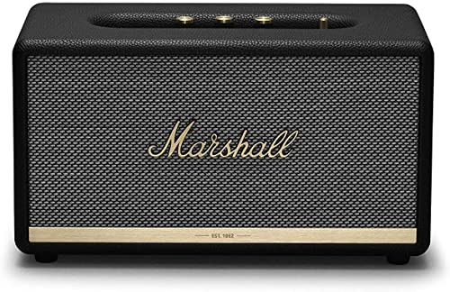 Marshall Stanmore II Wireless Bluetooth Speaker – Black Renewed