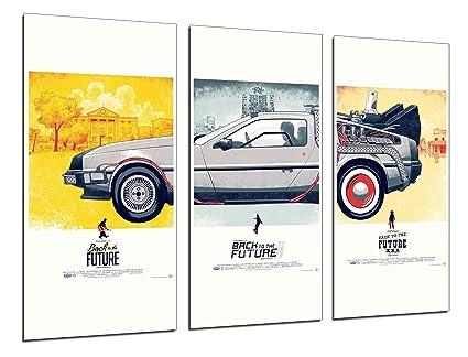 Cuadros Cámara Poster Fotográfico Regreso Al Futuro, Cine, Multicolor, 97 x 62 cm XXL