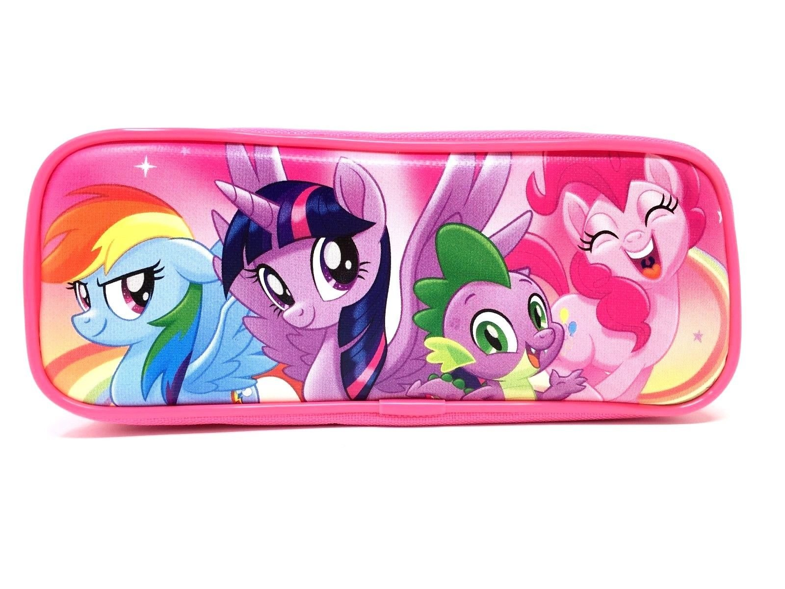 My Little Pony Wallet-Passport Bag- String Sling Tote Bag Backpack (PINK PENCIL CASE) by Party Favors My Little Pony (Image #1)