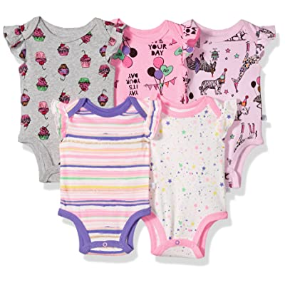 Rosie Pope Baby 5 Pack Bodysuits More Colors Available
