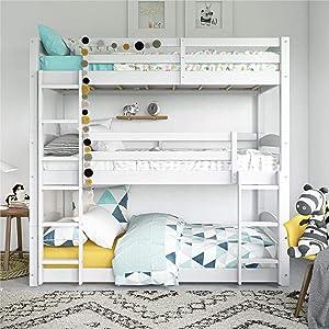 Dorel Living Phoenix Triple Floor Bunk Bed
