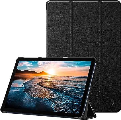 Fintie Hülle Case Für Huawei Matepad T10 T10s 10 Ultra Dünn Superleicht Flip Schutzhülle Mit Zwei Einstellbarem Standfunktion Für Huawei Matepad T10 T10s 10 1 Zoll Tablet 2020 Schwarz Elektronik