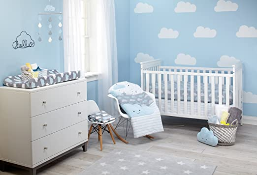 Nojo Happy Little Clouds Crib Bedding Collection