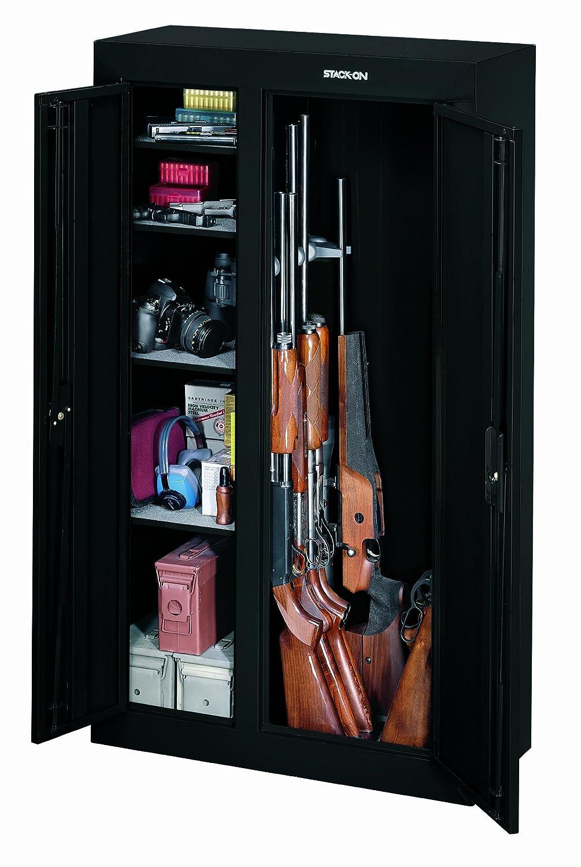 Amazon Stack On Gcdb 924 10 Gun Double Door Steel Security