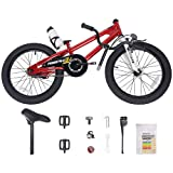 Royalbaby Kids Freestyle Bicycle, Red, 18-Inch